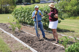 Promoting gardens for sustainable living